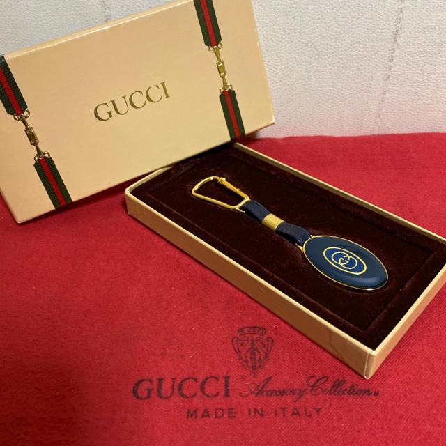 ヴィトン時計激安,Gucci-超貴重 箱付き 未使用 GUCCIオールド グッチネイビー キーホルダーの通販bySafari