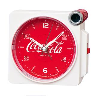 セイコー(SEIKO)のセイコークロック 目覚まし時計 アナログ コカコーラ コラボ(置時計)