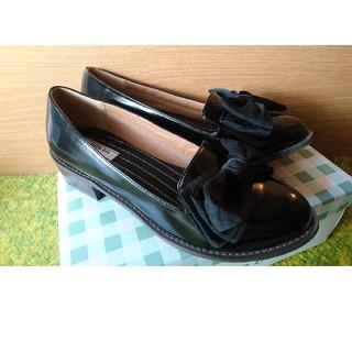 ランダ(RANDA)のRANDA リボン付ローファー(ローファー/革靴)
