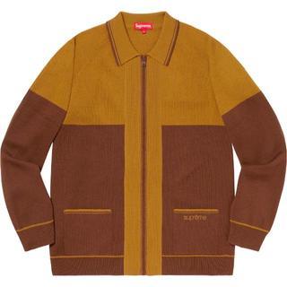 シュプリーム(Supreme)の【専用】Supreme Color Blocked Zip Up Sweater(ニット/セーター)