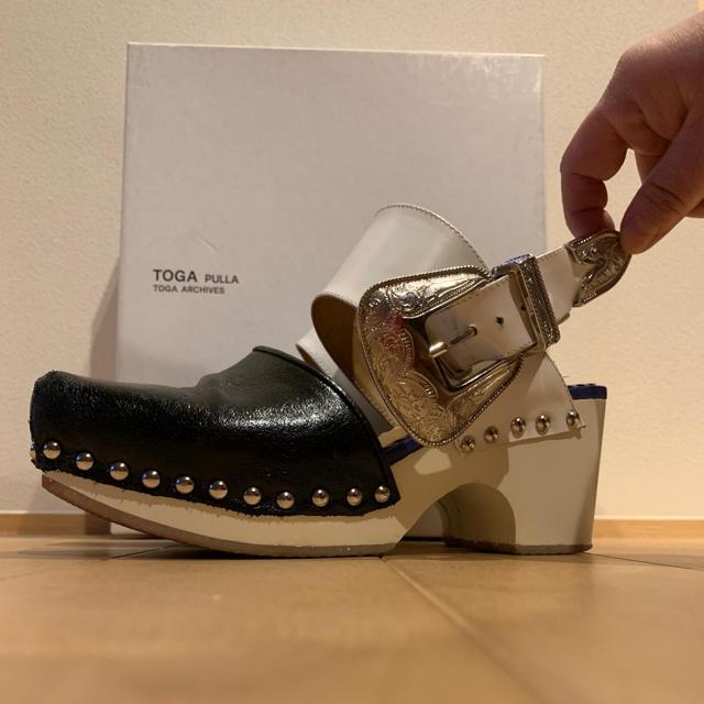 TOGA(トーガ)の週末限定セール!TOGA pulla☆厚底バックルサンダル レディースの靴/シューズ(サンダル)の商品写真