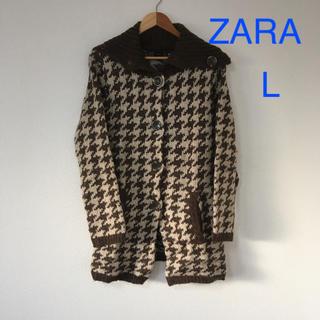 ザラ(ZARA)のZARA*ニットコート L(ニットコート)