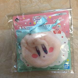 バンダイ(BANDAI)の一番くじ 星のカービィ D賞 ふわふわカービィ 巾着ポーチ カービィ 新品(ポーチ)