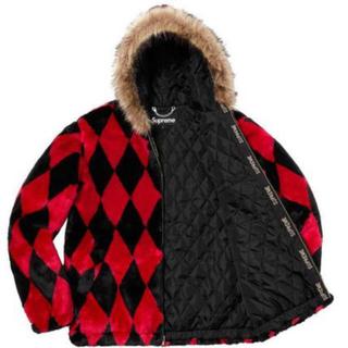 シュプリーム(Supreme)のsupreme  diamond fur jacket Lサイズ(毛皮/ファーコート)