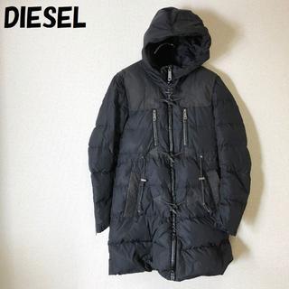 DIESEL - 【人気】DIESEL/ディーゼル ジップアップコート ブラック レディース