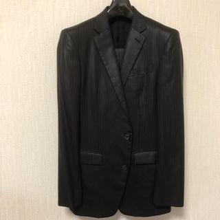 コムサメン(COMME CA MEN)のストライプスーツ プラチナコムサ 48L(セットアップ)