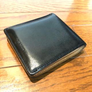 エンダースキーマ(Hender Scheme)の【投げ売り価格】エンダースキーマ 折り財布 ブラック(折り財布)
