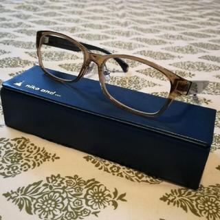 ニコアンド(niko and...)の【niko and ... × JINS】 だて眼鏡(サングラス/メガネ)