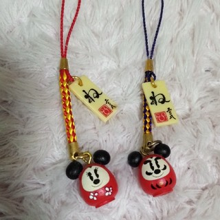 ディズニー(Disney)の2008 ディズニー お正月 ネズミ ストラップ(キャラクターグッズ)