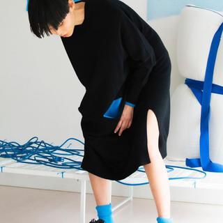 エンフォルド(ENFOLD)の☆新作☆ENFOLDミドルウールpoint color tunic(チュニック)