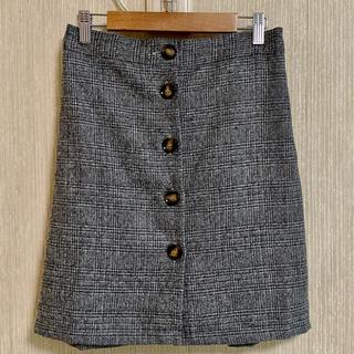 アベイル(Avail)の美品★アベイル★前ボタンタイトスカート(ミニスカート)