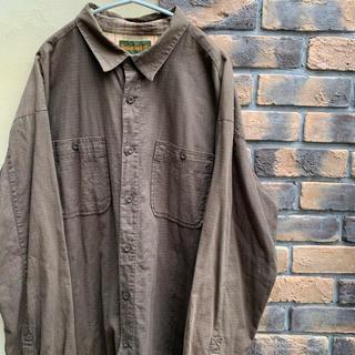 ティンバーランド(Timberland)の90s Timberland ティンバーランド オーバーサイズ ワークシャツ(シャツ)