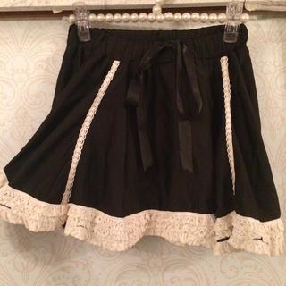 デイシー(deicy)のスカート ♡ 黒 リボン(ミニスカート)
