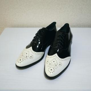 ジーナシス(JEANASIS)の【新品】ウィングチップシューズ(ローファー/革靴)