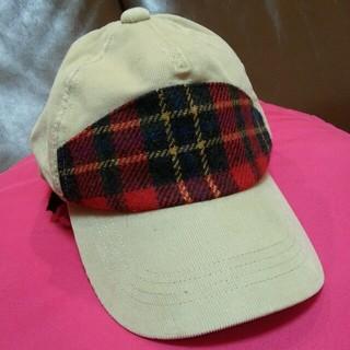 ムジルシリョウヒン(MUJI (無印良品))の無印 帽子 キャップ ゴム付き50センチ(帽子)
