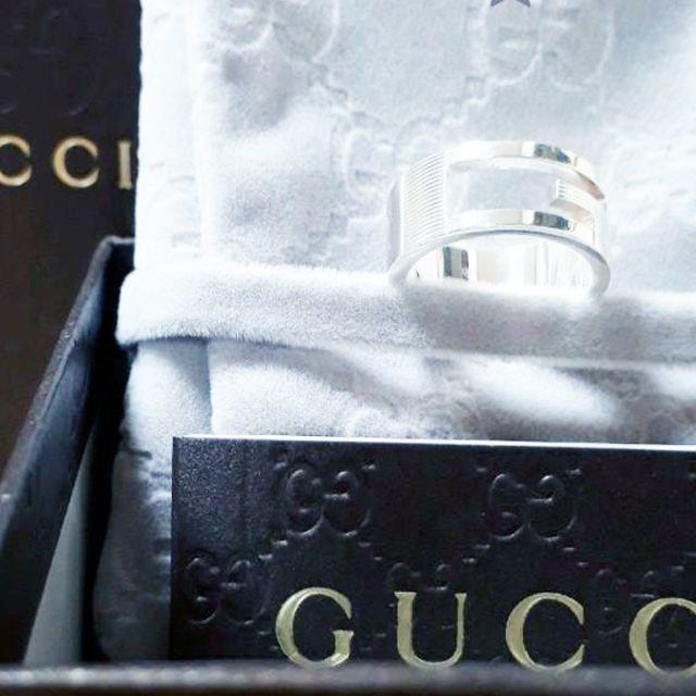 イベントファン感謝 / Gucci - ☆新品☆未使用☆Gucci グッチ ブランテッドGリング13号の通販 by mimi's shop