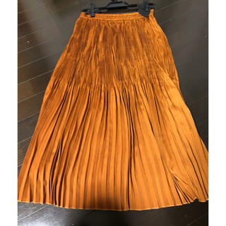 ナチュラルビューティーベーシック(NATURAL BEAUTY BASIC)のプリーツスカート(ロングスカート)
