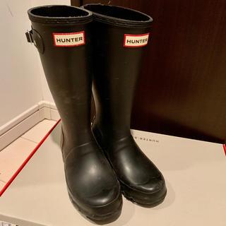 ハンター(HUNTER)のHUNTER レインブーツ 長靴 オリジナルキッズ ブラック 20cm UK1(長靴/レインシューズ)