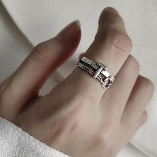 アメリヴィンテージ(Ameri VINTAGE)のsilver925  デザイン シルバーリング リング 指輪 シルバー925(リング(指輪))