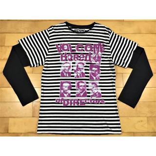 ボルコム(volcom)のボルコムVOLCOMコンビロングスリーブボーダーカットソーサイズM(Tシャツ/カットソー(七分/長袖))