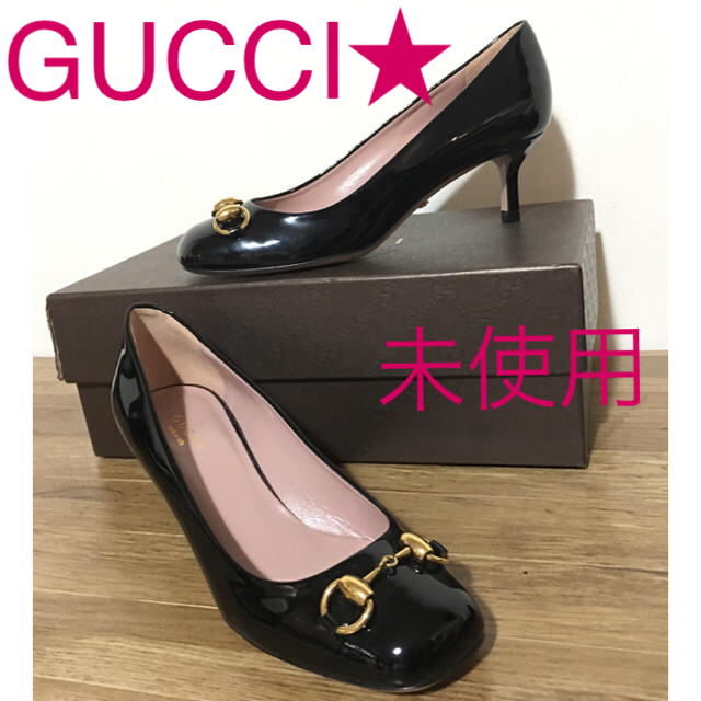b gアクセサリー / Gucci -  SALE����未使用GUCCI☆フォーマル�も�35 1/2☆�通販 by karcchini