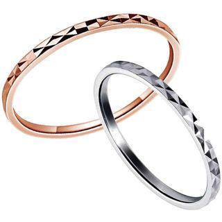 レディース 指輪 シルバーリング カット ポリッシュクロス(リング(指輪))