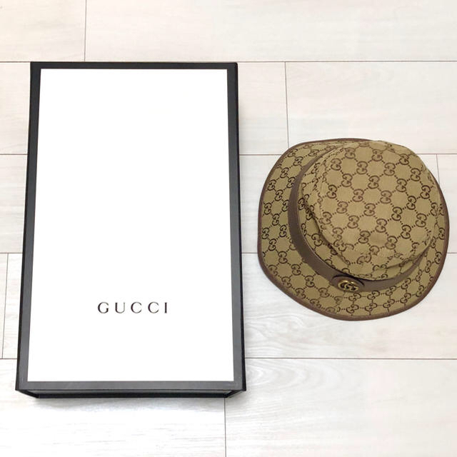 sony tablet p アクセサリー | Gucci - GUCCI バケットハット Mの通販 by にゃそ's shop