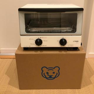 タイガー(TIGER)の【未使用】オーブントースター(タイガー・KAK-A型・ホワイト)(調理機器)