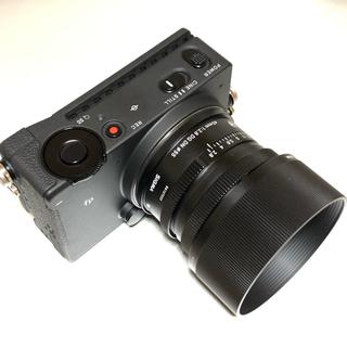 シグマ(SIGMA)のSIGMA fp + 45mm f2.8 キット(ミラーレス一眼)
