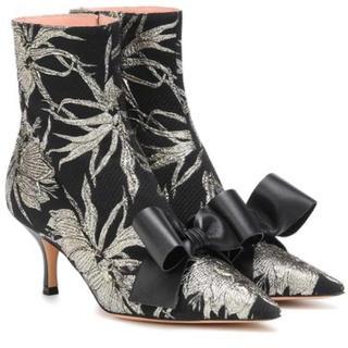 ドゥロワー(Drawer)のROCHAS★Brocade ankle boots 2019aw Drawer(ブーツ)
