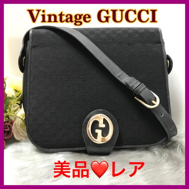エベルト?バスケス / Gucci - 【最終セール❗️】GUCCI オールドグッチ⭐️ショルダーバッグ⭐️美品 の通販 by AshleyGlobal's shop