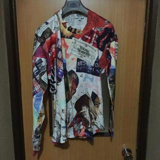 ヴィヴィアンウエストウッド(Vivienne Westwood)のVivienne Westwood MAN Squiggle Silhouett(Tシャツ/カットソー(七分/長袖))