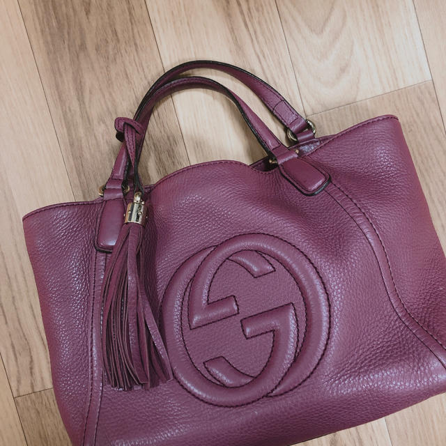 Gucci - GUCCI SOHO 2WAYショルダーバッグの通販 by tatanshop♡