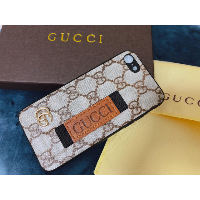 Gucci - 《新品未使用》GUCCI iPhone8ケースの通販 by myu's shop