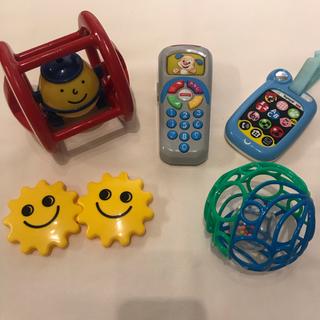 ボーネルンド(BorneLund)のおもちゃ 5点セット(知育玩具)