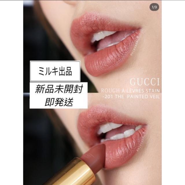 スーパーコピー エルメス バングル メンズ / Gucci - GUCCI  グッチ  リップ サテン(マット)  #201 の通販 by meimeiksg's shop