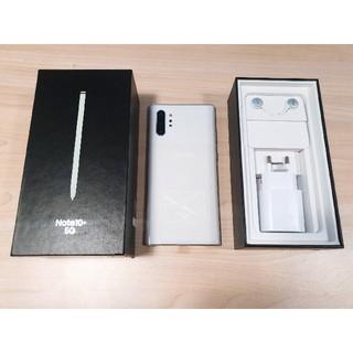 サムスン(SAMSUNG)のSamsung Galaxy Note 10+ 5G 256GB  ホワイト(スマートフォン本体)