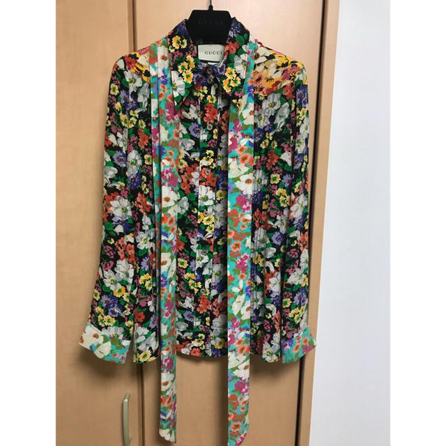 Gucci - GUCCI ワイルドフラワーシャツの通販 by ドーター田口