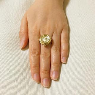 セイコー(SEIKO)のSEIKO セイコー 金色 ゴールド  可愛い 指輪 指輪時計 ケース付き(リング(指輪))