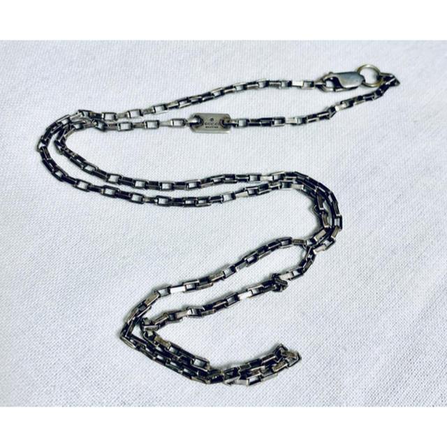 エルメス 財布 偽物 見分け方ポロシャツ / Gucci - グッチ オールド スクエア チェーンのみ シルバー925 ヴィンテージの通販 by chidori's shop
