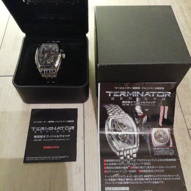 安い オメガ | ターミネーター世界限定8000点自動巻き腕時計T-800の通販 by Casey's shop