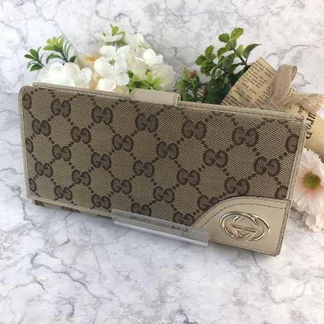 Gucci - ❤セール❤ GUCCI グッチ 長財布 財布 GG キャンバス レディースの通販 by 即購入歓迎shop