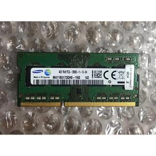 サムスン(SAMSUNG)のPC3L-12800S-11-13-B4. 4GBメモリ 1枚  20(PC周辺機器)