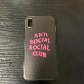 アンチ(ANTI)のAnti Social Social Club iPhoneケース(iPhoneケース)