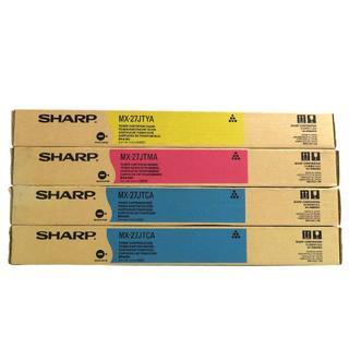 シャープ(SHARP)の未使用品 シャープ 純正 トナー カートリッジ 3色 4点 セット(OA機器)