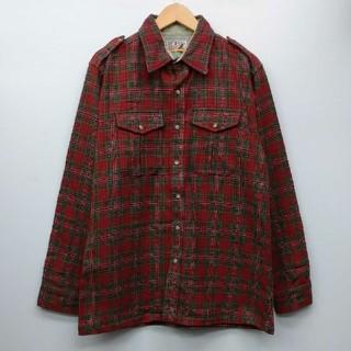 ペンドルトン(PENDLETON)のVINTAGE LOBO byPendleton ウールシャツ L(シャツ)