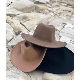 アリシアスタン(ALEXIA STAM)の新品送料無料☆Admance Basic Hat  モカ(ハット)