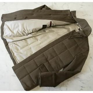 ロロピアーナ(LORO PIANA)の新品ロロピアーナ100%カシミアコート 46 48 キルティングジャケット(ダウンジャケット)