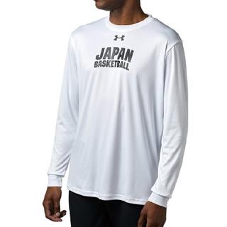 アンダーアーマー(UNDER ARMOUR)の新品 LG underarmour japan basketball tee 白(トレーニング用品)