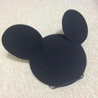 ディズニー(Disney)のミッキー ベレー帽(ハンチング/ベレー帽)